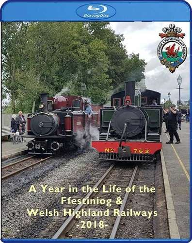 Ffestiniog and Welsh Highland Railways 2018. Blu-ray