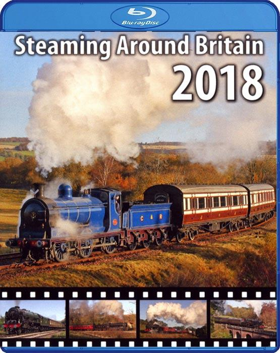 Steaming Around Britain 2018. Blu-ray