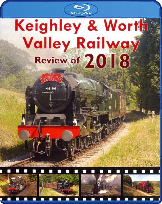 Keighley & Worth Valley Railway - Review of 2018. Blu-ray