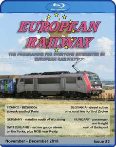 European Railway: Issue 82 - November - December 2018 Blu-ray