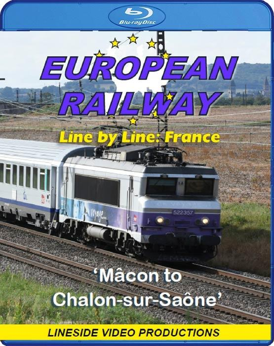 European Railway - Line by Line - France. Blu-ray