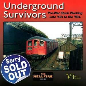 Underground Survivors - Pre-War Stock Working Late 60s to the 80s - Book