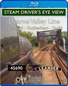 Steam Drivers Eye View - Dearne Valley Line. Blu-ray