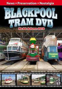 Blackpool Tram DVD No.94 - Autumn 2019