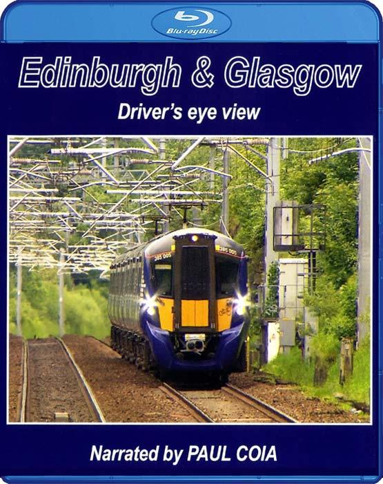 Edinburgh and Glasgow - Driver's Eye View. Blu-ray