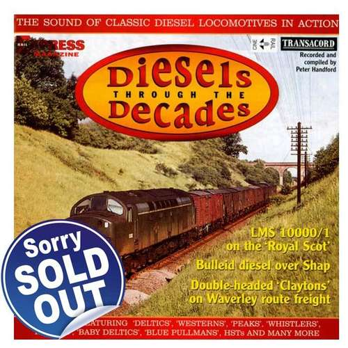 Diesels Through the Decades - Audio CD