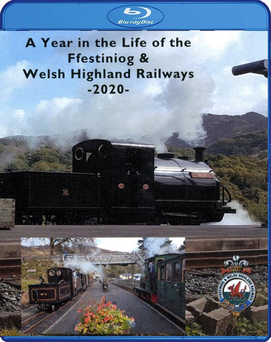 A Year in the Life of the Ffestiniog & Welsh Highland Railways 2020. Blu-ray