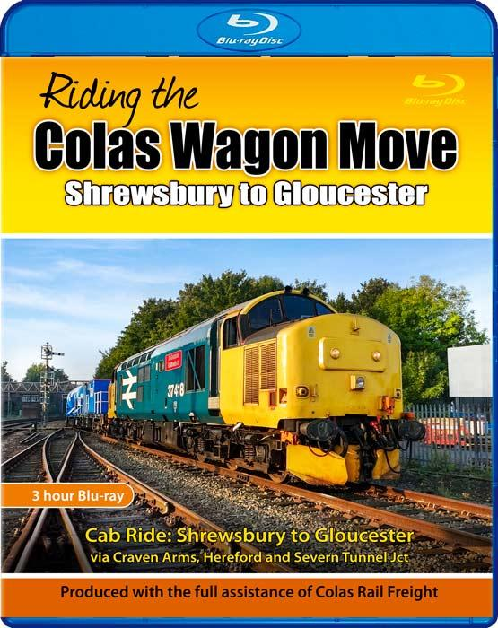Riding the Colas Wagon Move: Shrewsbury to Gloucester. Blu-ray