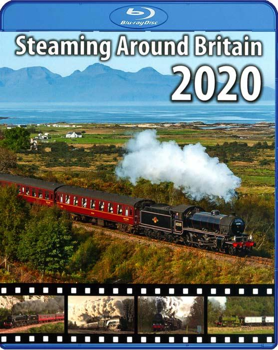 Steaming Around Britain 2020. Blu-ray