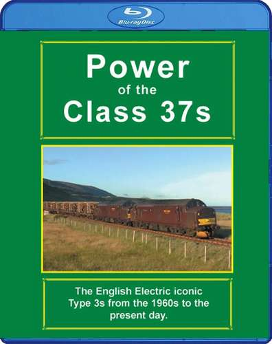 Power of the Class 37s. Blu-ray