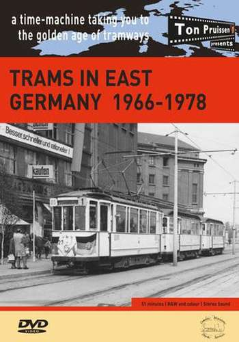 Trams in East Germany 1966-1978