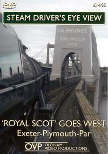 Steam Drivers Eye View - Royal Scot Goes West