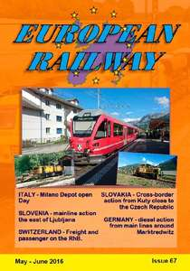 European Railway - Issue 67 - May - June 2016