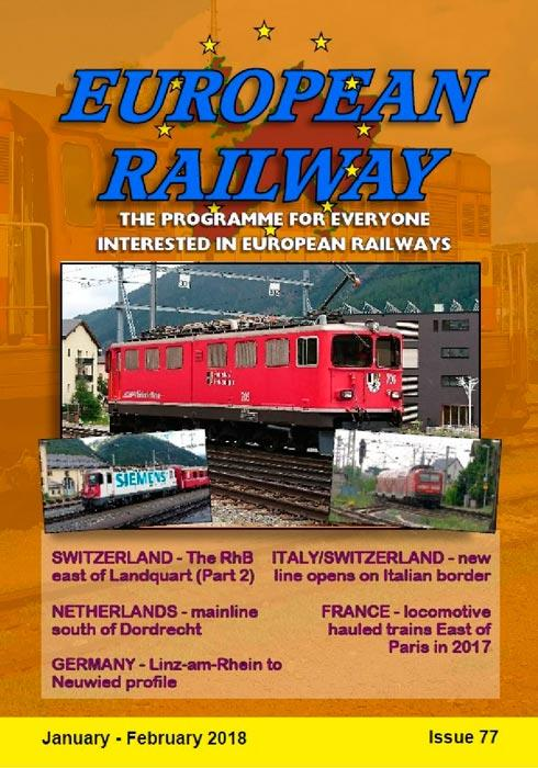 European Railway - Issue 77 - January - February 2018