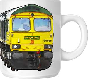 The Class 66 - Big Freight Mug Collection