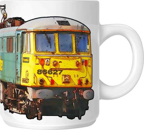 The Class 86 - Big Freight Mug Collection