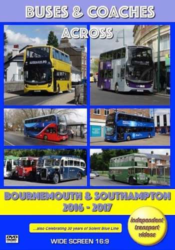 Buses and Coaches Across Bournemouth and Southampton 2016-2017