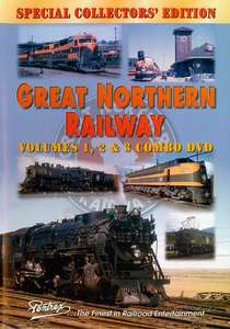 Great Northern Railway Combo: Volumes 1, 2 & 3