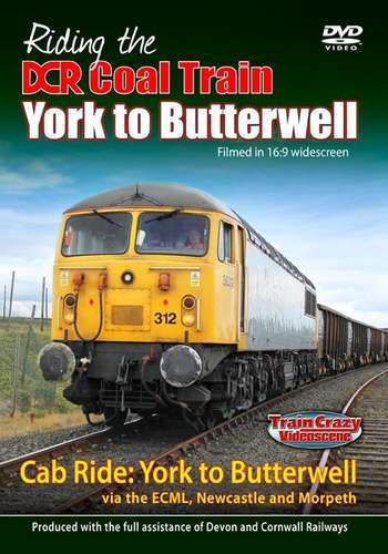 Riding the DCR Coal Train - York to Butterwell