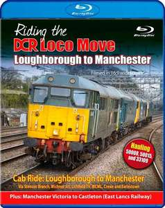Riding the DCR Loco Move - Part Two - Loughborough to Manchester - Blu-ray
