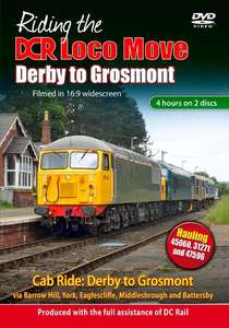 Riding the DCR Loco Move - Derby to Grosmont