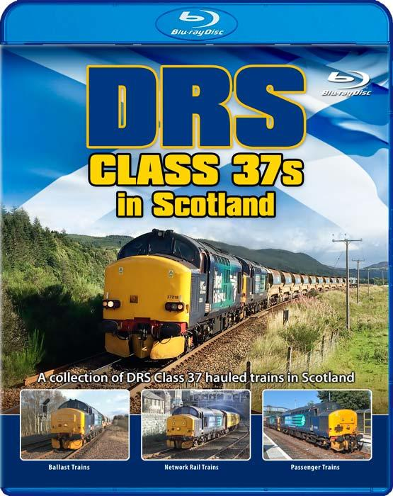 DRS Class 37s in Scotland - Blu-ray
