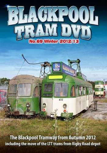 Blackpool Tram DVD 69 - Winter 2012-13