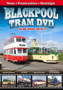 Blackpool Tram DVD 85 - Winter 2016 - 17