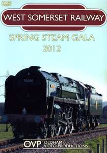 West Somerset Railway Spring Steam Gala 2012 -Blu-ray