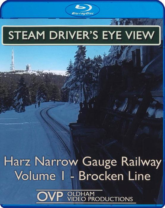Steam Drivers Eye View - Harz Narrow Gauge Railway Volume 1 - Brocken Line - Blu-ray