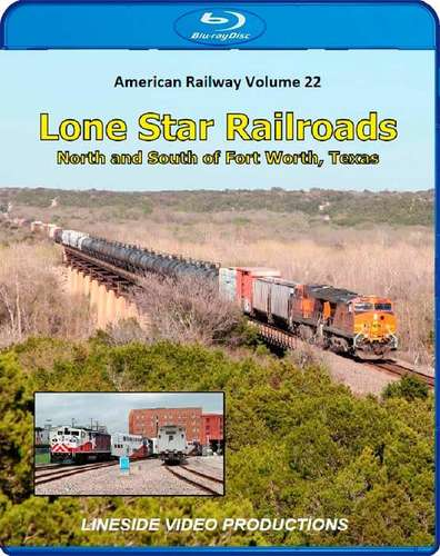 American Railway -  Volume 22 - Lone Star Railroads - Blu-ray