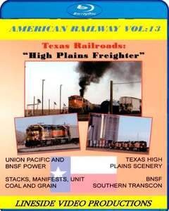 American Railway - Vol 13 Texas Railroads - High Plains Freighter - Blu-ray