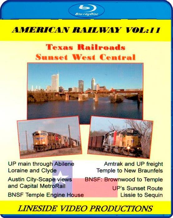 American Railway - Vol 11 Texas Railroads - Sunset West Central - Blu-ray