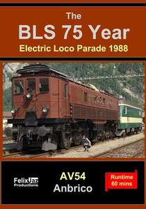 The BLS 75 Year Electric Loco Parade 1988