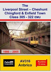 The Liverpool Street - Cheshunt Chingford and Enfield Town Class 305-322 EMU 1986-2005