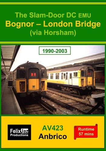 The Slam-door DC EMU Bognor - London Bridge via Horsham