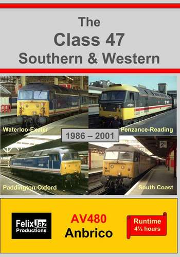The Class 47 Southern and Western - 4 Disc set