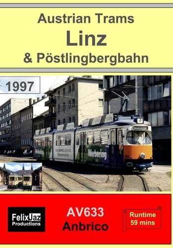 Austrian Trams - Linz and Pöstlingbergbahn 1997