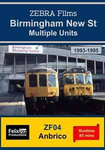 Birmingham New Street Multiple Units