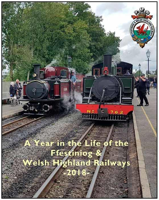 Ffestiniog and Welsh Highland Railways 2018. DVD
