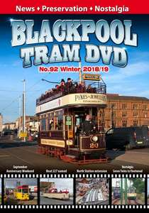 Blackpool Tram DVD No.92 - Winter 2018/19
