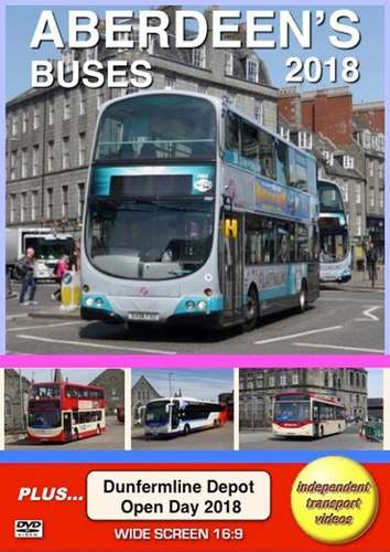 Aberdeen's Buses 2018 and Dunfermline Depot Open Day