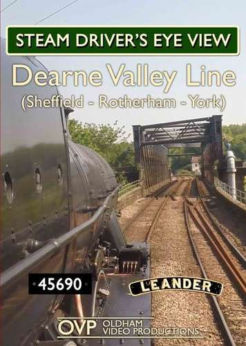 Steam Drivers Eye View - Dearne Valley Line