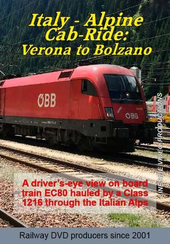 Italy - Alpine Cab-ride: Verona to Bolzano