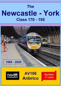The Newcastle - York Class 170 - 195