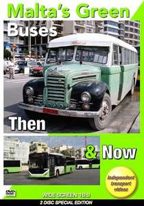 Malta's Green Buses - Then and Now