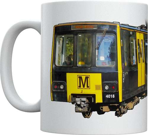 Light Rail Mug Collection - Tyne and Wear Metro Metrocars
