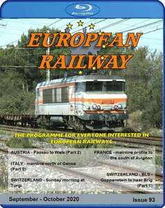 European Railway: Issue 93. Blu-ray