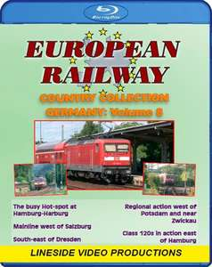 European Railway - Country Collection: Germany - Volume 8. Blu-ray