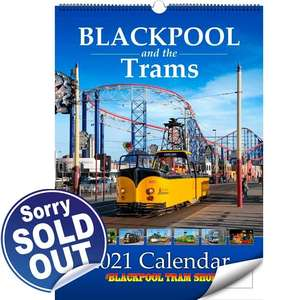 Blackpool and the Trams - 2021 Calendar